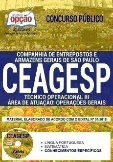 TÉCNICO OPERACIONAL III - ÁREA DE ATUAÇÃO: OPERAÇÕES GERAIS