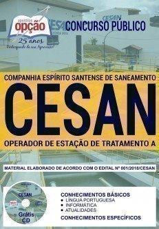 OPERADOR DE ESTAÇÃO DE TRATAMENTO A