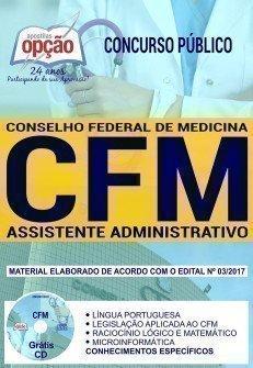 Apostila Concurso CFM 2018 | ASSISTENTE ADMINISTRATIVO