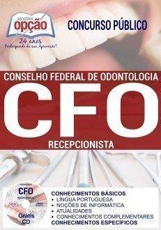 Apostila para Recepcionista do Conselho Federal de Odontologia - CFO.