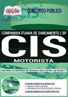 Apostila Concurso CIS 2018 | MOTORISTA