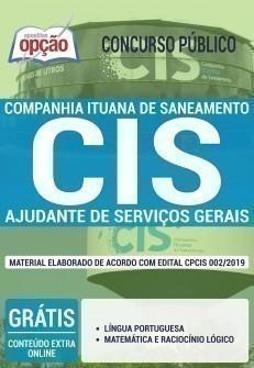 AJUDANTE DE SERVIÇOS GERAIS