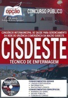 Apostila CISDESTE TÉCNICO DE ENFERMAGEM