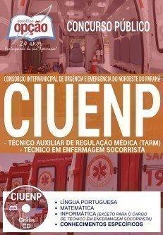 TÉCNICO AUXILIAR DE REGULAÇÃO MÉDICA - TARM E TÉCNICO EM ENFERMAGEM SOCORRISTA