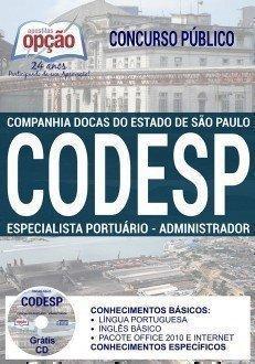 ESPECIALISTA PORTUÁRIO - ADMINISTRADOR