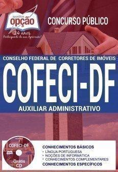 Apostila Concurso COFECI 2017 | AUXILIAR ADMINISTRATIVO