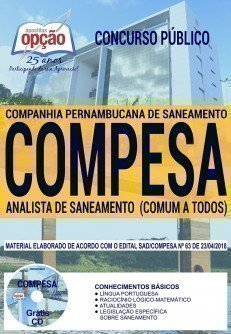 ANALISTA DE SANEAMENTO (COMUM A TODOS)