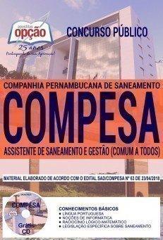 ASSISTENTE DE SANEAMENTO E GESTÃO (COMUM A TODOS).