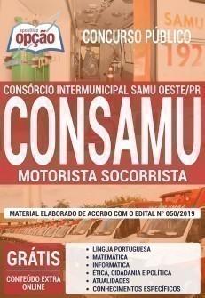 MOTORISTA SOCORRISTA
