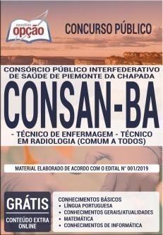 TÉCNICO DE ENFERMAGEM E TÉCNICO EM RADIOLOGIA (COMUM A TODOS)
