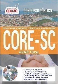 Apostila Concurso CORE SC 2017 - AGENTE FISCAL