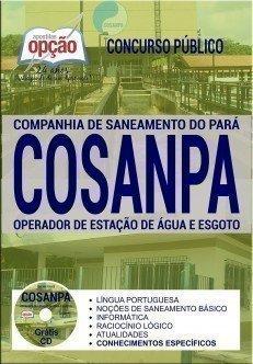 OPERADOR DE ESTAÇÃO DE ÁGUA E ESGOTO