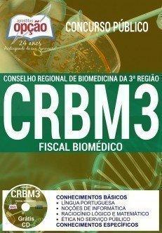 AApostila CRBM 3ª Região Concurso 2017 para FISCAL BIOMÉDICO