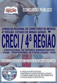 Apostila CRECIMG - Profissional de Fiscalização e Administrativo