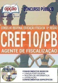 Apostila CREF10-PB AGENTE DE FISCALIZAÇÃO