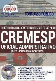 OFICIAL ADMINISTRATIVO (ÁREA LICITAÇÕES E CONTRATOS)