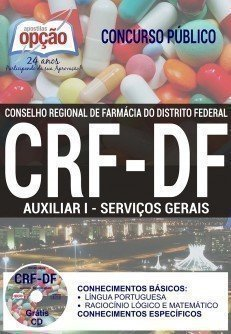 Apostila CRF DF AUXILIAR I SERVIÇOS GERAIS