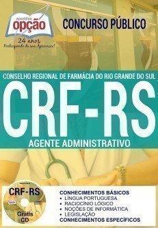 Apostila Concurso CRF RS 2017 | AGENTE ADMINISTRATIVO
