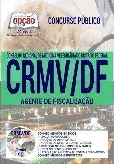 Apostila concurso CRMV - DF AGENTE DE FISCALIZAÇÃO