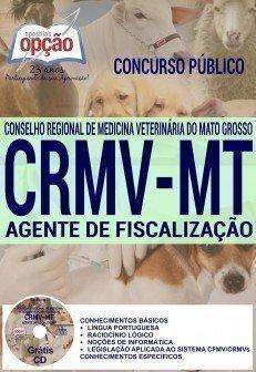 Apostila CRMV-MT 2016 AGENTE DE FISCALIZAÇÃO