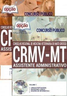 Apostila Concurso CRMV MT Assistente Administrativo.
