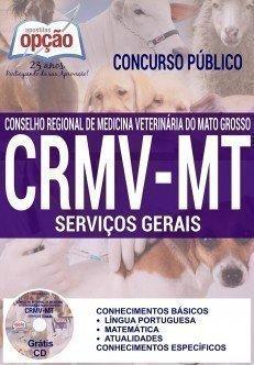 Apostila Concurso CRMV MT 2016 SERVIÇOS GERAIS