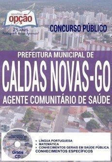 Apostila Concurso da Prefeitura de Caldas Novas para AGENTE COMUNITÁRIO DE SAÚDE.