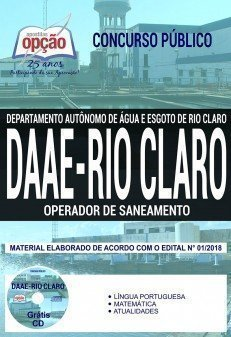 OPERADOR DE SANEAMENTO
