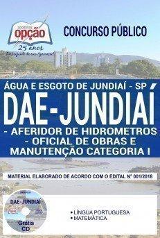 AFERIDOR DE HIDROMETROS E OFICIAL DE OBRAS E MANUTENÇÃO CATEGORIA I