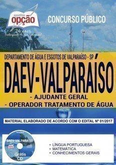 AJUDANTE GERAL E OPERADOR TRATAMENTO DE ÁGUA