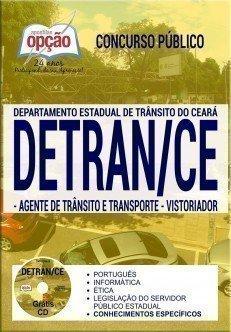 Apostila Concurso DETRAN CE 2018 | AGENTE DE TRÂNSITO E TRANSPORTE E VISTORIADOR
