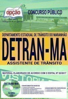 Apostila DETRAN-MA Assistente de Trânsito 2018