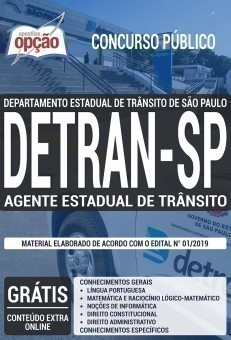 AGENTE ESTADUAL DE TRÂNSITO