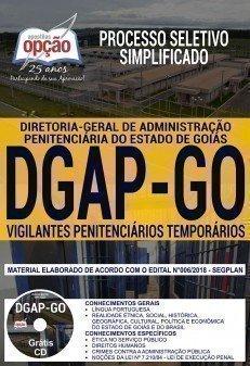 Apostila DGAP GO - Vigilante Penitenciário Temporário