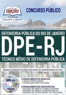 TÉCNICO MÉDIO DE DEFENSORIA PÚBLICA