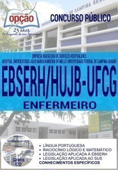 Apostila Concurso EBSERH HUAC-HUJB ENFERMEIRO