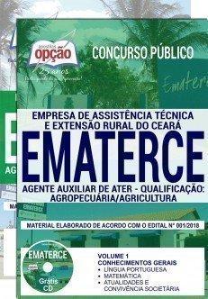 AGENTE AUXILIAR DE ATER - QUALIFICAÇÃO: AGROPECUÁRIA/AGRICULTURA