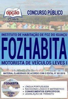MOTORISTA DE VEÍCULOS LEVES I
