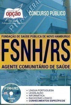Apostila Concurso FSNH 2017 | AGENTE COMUNITÁRIO DE SAÚDE