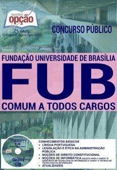 APOSTILA Concurso FUB COMUM A TODOS OS CARGOS.