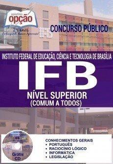 concurso concurso ifb 2016 cargo nivel superior comum a todos 3786.jpg?versao=0 - Concurso IFB 2016: Inscrições abertas para Técnicos-Administrativos