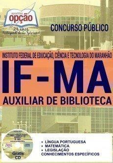 apostila ifma concurso AUXILIAR DE BIBLIOTECA 2016