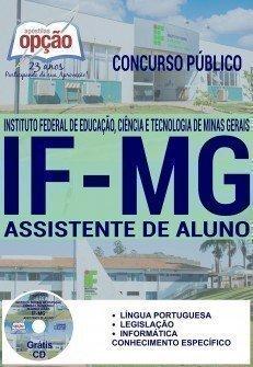 Apostila Concurso IFMG ASSISTENTE DE ALUNO