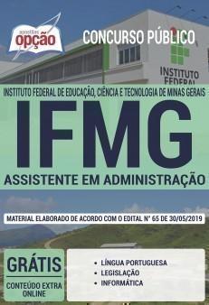 Apostila Concurso IFMG ASSISTENTE EM ADMINISTRAÇÃO