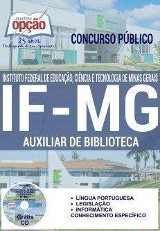 Apostila IF-MG AUXILIAR DE BIBLIOTECA