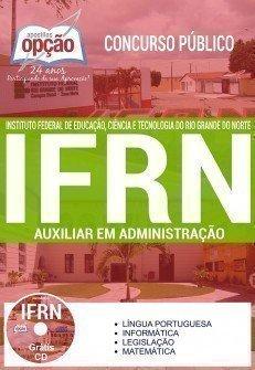Apostila Concurso IFRN 2017 | AUXILIAR EM ADMINISTRAÇÃO