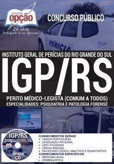 Aspostila IGP RS PERITO MÉDICO-LEGISTA FORENSE