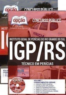 Apostila Instituto Geral de Perícias do RS (IGP RS) Técnico em Perícia