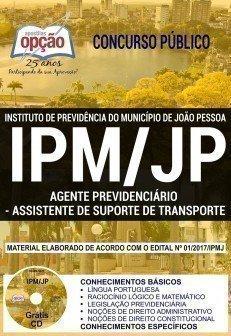 AGENTE PREVIDENCIÁRIO - ASSISTENTE DE SUPORTE DE TRANSPORTE