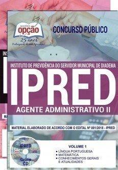 apostila Concurso IPRED - Diadema (SP)